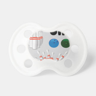 bowling pins pacifier