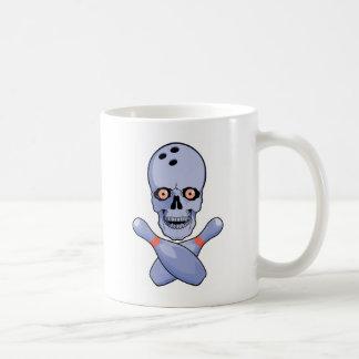 Bowling Skull Coffee Mug