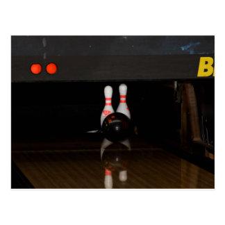 Bowling Spare Postcard