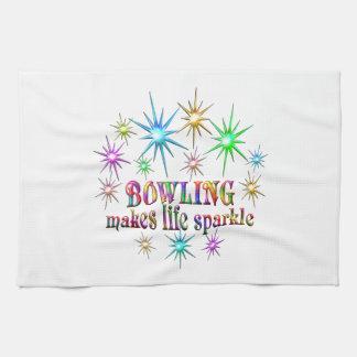 Bowling Sparkles Kitchen Towel