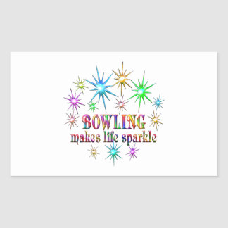 Bowling Sparkles Sticker
