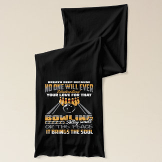 Bowling Sport Hobby Scarf