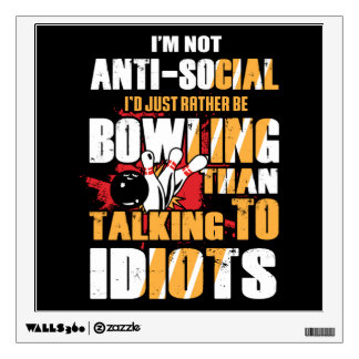 Bowling Sport Hobby Wall Decal