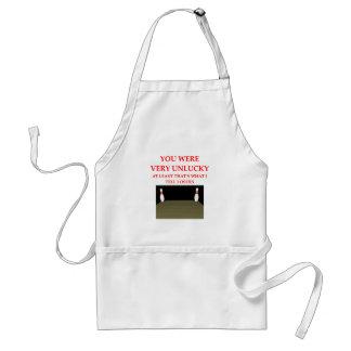 bowling standard apron