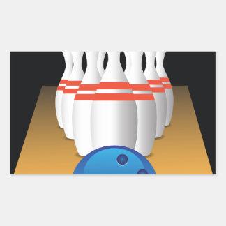bowling sticker
