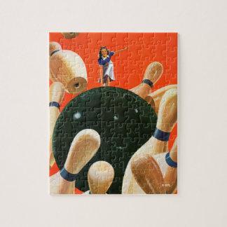 Bowling Strike Jigsaw Puzzle
