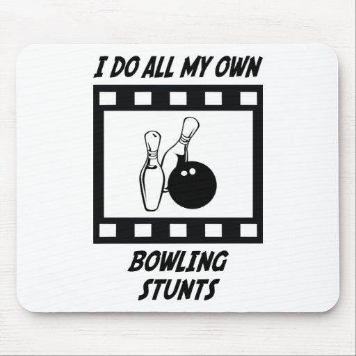 Bowling Stunts Mouse Pad