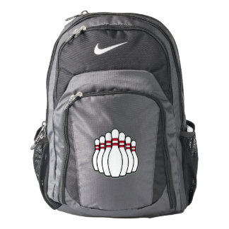 Bowling Ten Pins Backpack