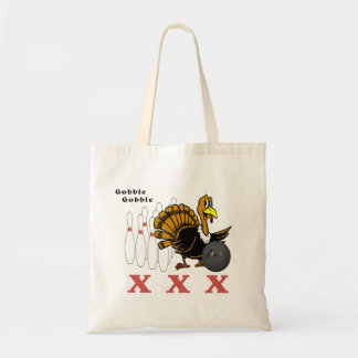 Bowling Turkey XXX Tote Bag