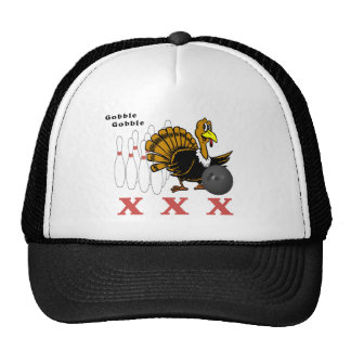 Bowling Turkey XXX Trucker Hat