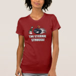 Bowling-War Tee Shirts