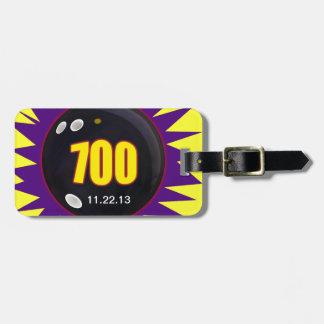 Bowling's 700 Series Luggage Tag
