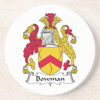 Bowman Family Crest Coaster