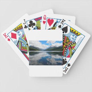 Bowman Lake Bicycle Playing Cards