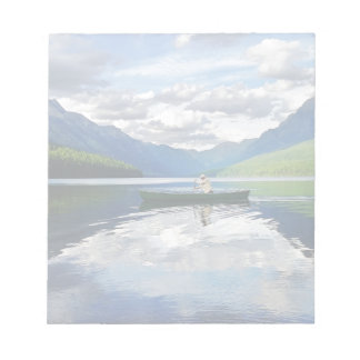 Bowman Lake - Glacier National Park Montana Notepads
