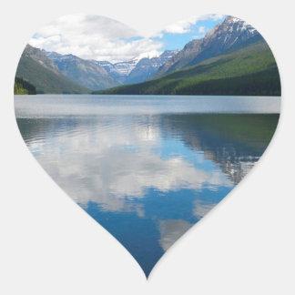 Bowman Lake Heart Sticker