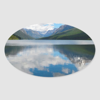 Bowman Lake Oval Sticker