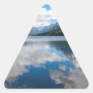 Bowman Lake Triangle Sticker