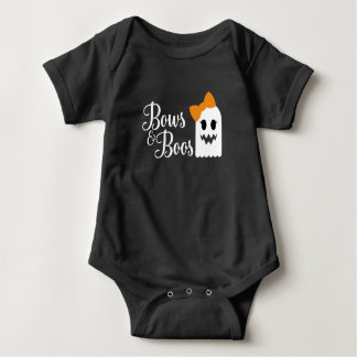 Bows and Boos Halloween Bodysuit for Baby