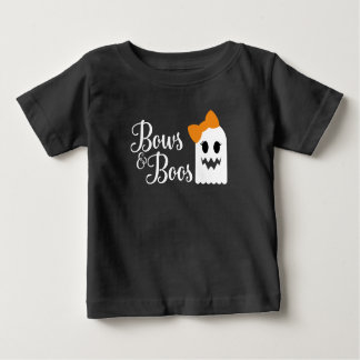Bows and Boos Halloween Tee for Kids