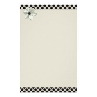 Bows & Polka Dot Matching Sets Stationery