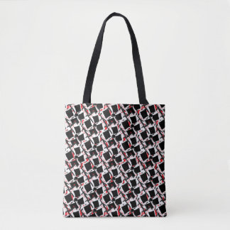 Bowtie Finie Tote Bag