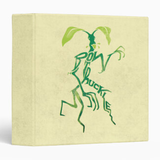 Bowtruckle Typography Graphic Binders