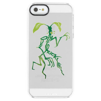 Bowtruckle Typography Graphic Clear iPhone SE/5/5s Case