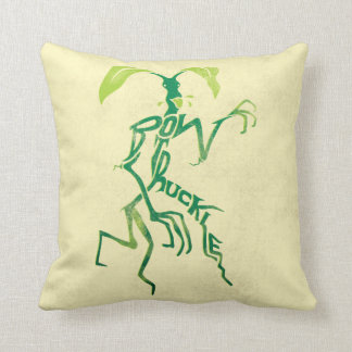 Bowtruckle Typography Graphic Throw Pillow