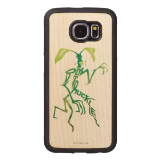 Bowtruckle Typography Graphic Wood Phone Case