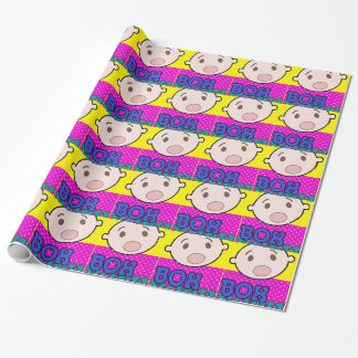 BOX BABY WRAPPING PAPER