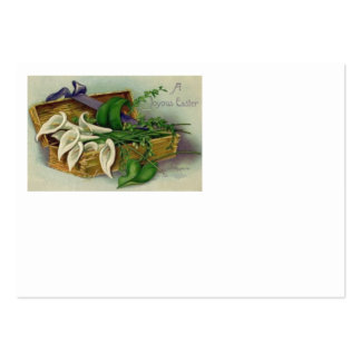 Box Easter Lily Large Business Card