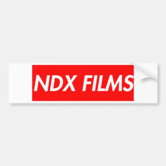 box logo bumper sticker