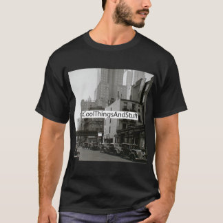 Box Logo: NYSOM 48th Street. T-Shirt