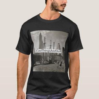 Box Logo: NYSOM Fulton Street Dock. T-Shirt