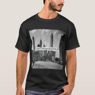 Box Logo: NYSOM South Street and Jones Lane. T-Shirt