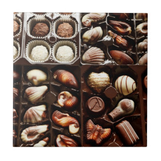 Box of Chocolate Candy Tile