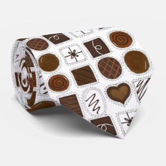Box of Chocolates Valentine's Day Valentine Tie