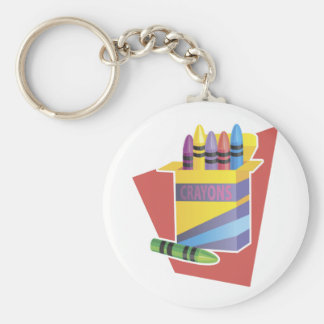 Box Of Crayons Keychain