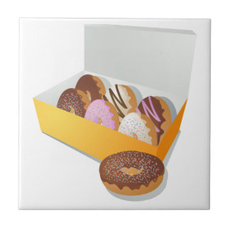 Box of Donuts Tile