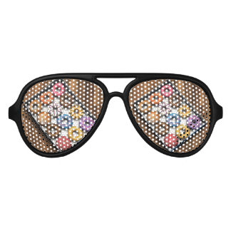 Box of Doughnuts Aviator Sunglasses