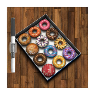 Box of Doughnuts Dry-Erase Board