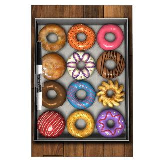 Box of Doughnuts Dry Erase White Board