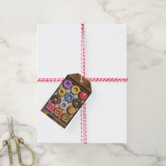 Box of Doughnuts Pack Of Gift Tags
