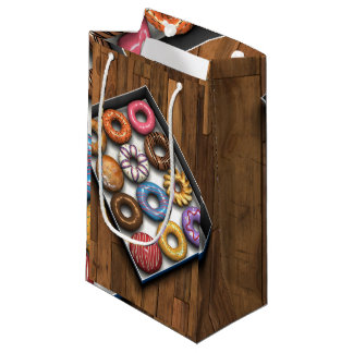 Box of Doughnuts Small Gift Bag