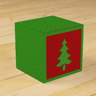Box of Gift - Tree of Christmas Favor Boxes