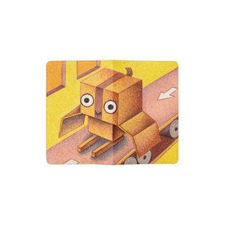 Box owl pocket moleskine notebook