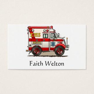 Box Truck Ambulance Business Card