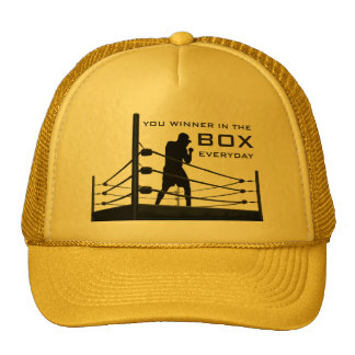 Box Trucker Hat