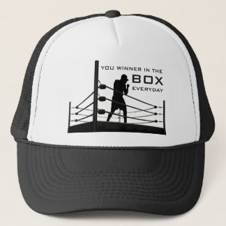 Box Trucker Hat